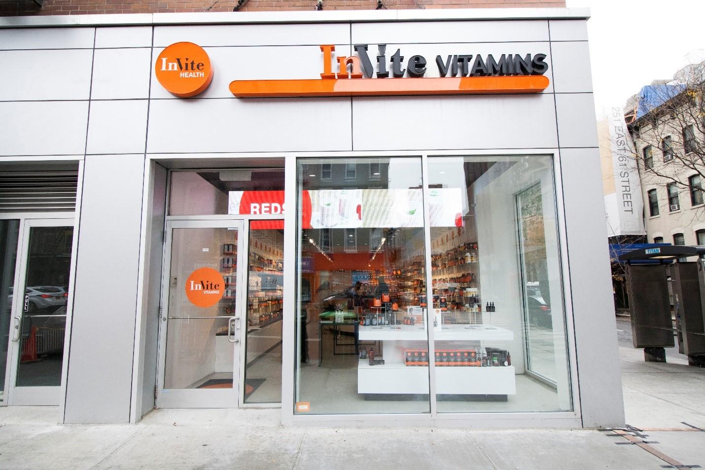 Upper Midtown NYC Vitamin Store